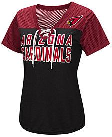 d33cc10466e5 G-III Sports Women s Arizona Cardinals Shake Down Jersey T-Shirt