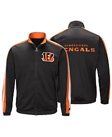 Starter Men's Cincinnati Bengals The Challenger Track Jacket