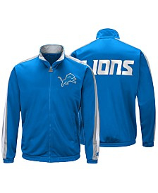 Starter Men's Detroit Lions The Challenger Track Jacket