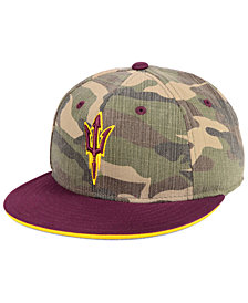adidas Arizona State Sun Devils Stadium Performance Camo Fitted Cap