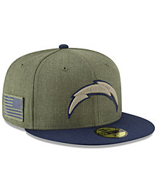 New Era Los Angeles Chargers Salute To Service 59FIFTY FITTED Cap