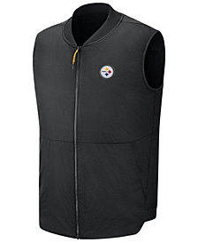 Nike Men's Pittsburgh Steelers Sideline Coaches Vest