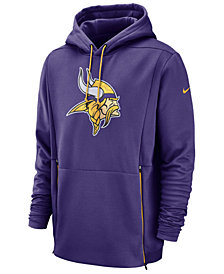 Nike Men's Minnesota Vikings Sideline Player Therma Hoodie