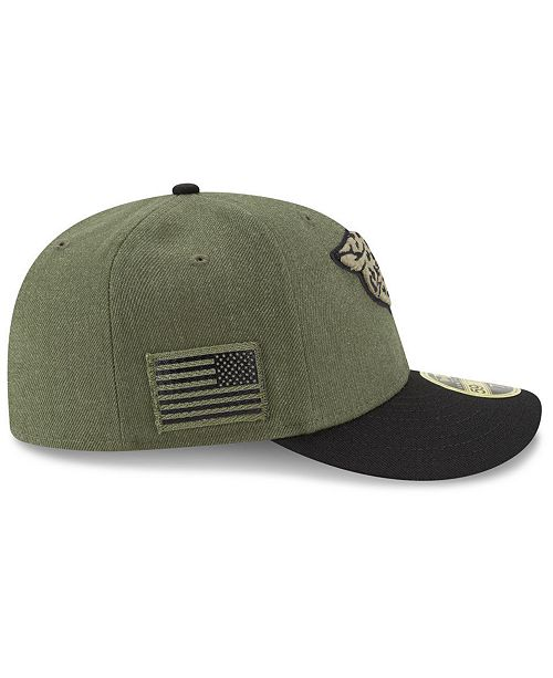 deb5f4ec New Era Jacksonville Jaguars Salute To Service Low Profile 59FIFTY ...