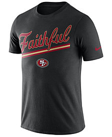 Nike Men's San Francisco 49ers Dri-Fit Cotton Local T-Shirt