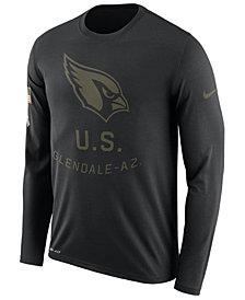 Nike Men's Arizona Cardinals Salute To Service Legend Long Sleeve T-Shirt