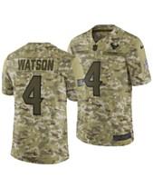 Nike Men s DeShaun Watson Houston Texans Salute To Service Jersey 2018 967b075cb