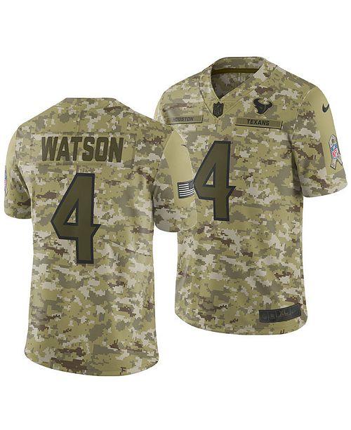 40f50deb Nike Men's DeShaun Watson Houston Texans Salute To Service ...
