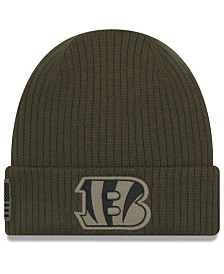 New Era Cincinnati Bengals Salute To Service Cuff Knit Hat