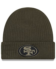 New Era San Francisco 49ers Salute To Service Cuff Knit Hat