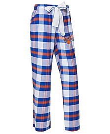 Women's New York Knicks Headway Flannel Pajama Pants