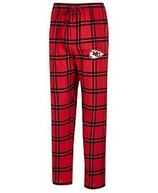 Men's Kansas City Chiefs Homestretch Flannel Sleep Pants