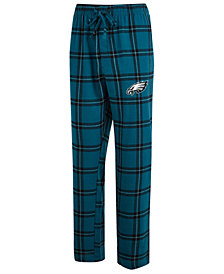 Concepts Sport Men's Philadelphia Eagles Homestretch Flannel Sleep Pants