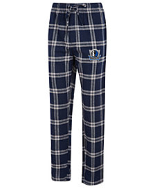 Concepts Sport Men's Dallas Mavericks Homestretch Flannel Sleep Pants
