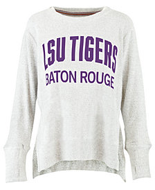 Pressbox Women's LSU Tigers Cuddle Knit Sweatshirt