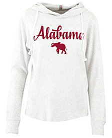 Pressbox Women's Alabama Crimson Tide Cuddle Knit Hooded Sweatshirt