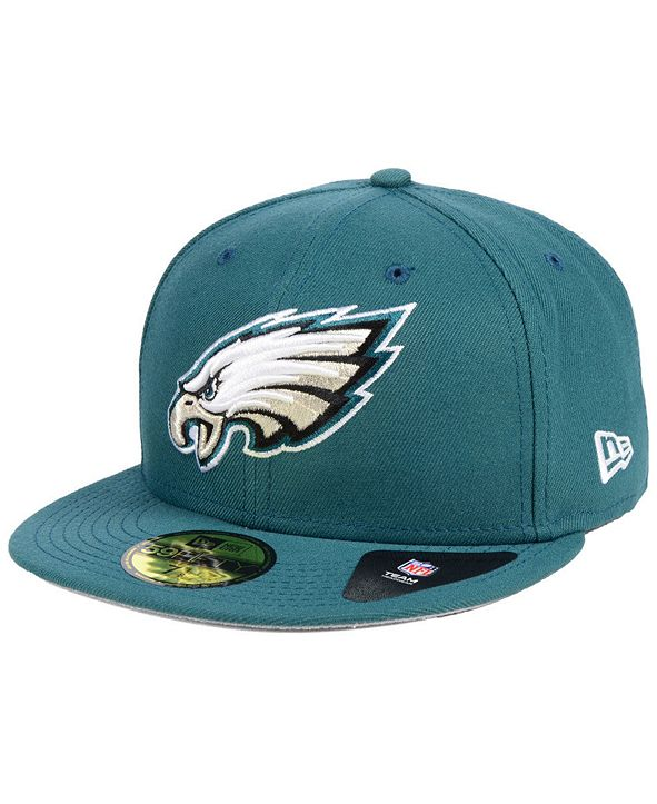 New Era Philadelphia Eagles Team Basic 59FIFTY Fitted Cap
