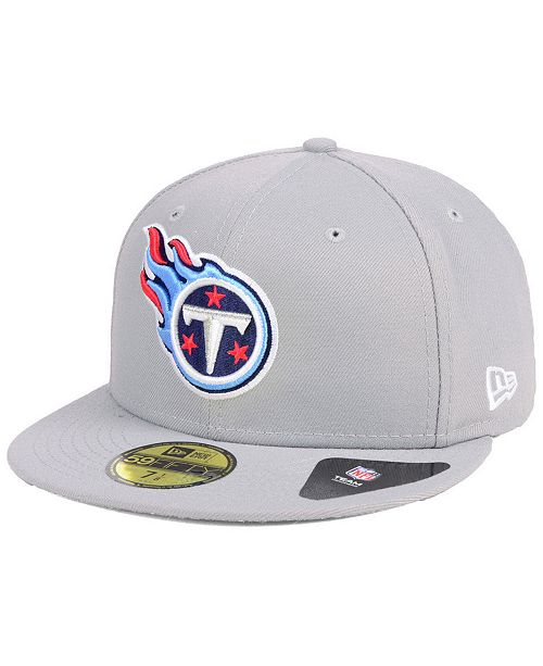 1c38bcb55 New Era Tennessee Titans Team Basic 59FIFTY Fitted Cap - Sports Fan ...