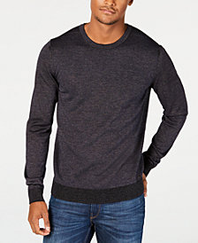 HUGO Men's Oversized-Fit Sweater