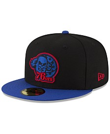 New Era Philadelphia 76ers Dark City Combo 59FIFTY FITTED Cap