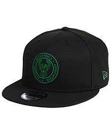 New Era Milwaukee Bucks Circular 9FIFTY Snapback Cap