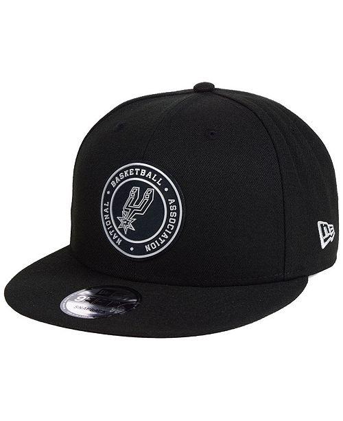 online store 2a526 6f68d ... New Era San Antonio Spurs Circular 9FIFTY Snapback Cap ...