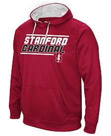 Colosseum Men's Stanford Cardinal Stack Performance Hoodie