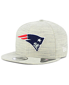 New Era New England Patriots Luxe Gray 9FIFTY Snapback Cap
