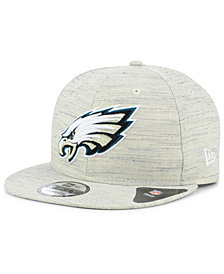 New Era Philadelphia Eagles Luxe Gray 9FIFTY Snapback Cap