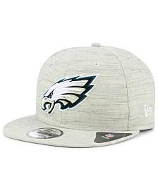 New Era Philadelphia Eagles Luxe Gray 9FIFTY Snapback Cap