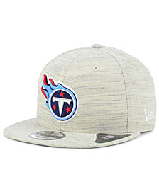 New Era Tennessee Titans Luxe Gray 9FIFTY Snapback Cap