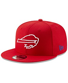 Buffalo Bills Logo Elements Collection 9FIFTY Snapback Cap
