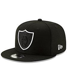 New Era Oakland Raiders Logo Elements Collection 9FIFTY Snapback Cap