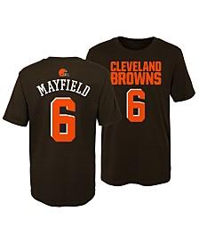 Outerstuff Baker Mayfield Cleveland Browns Mainliner Player T-Shirt, Little Boys (4-7)