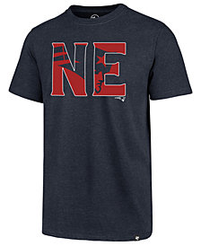 '47 Brand Men's New England Patriots Regional Slogan Club T-Shirt
