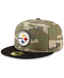 New Era Pittsburgh Steelers Vintage Camo 59FIFTY FITTED Cap