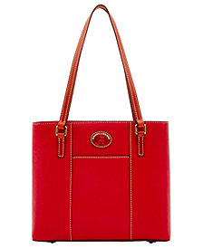 Dooney & Bourke Alabama Crimson Tide Pebble Small Lexington Tote