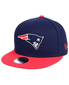Boys' New England Patriots Two Tone 9FIFTY Snapback Cap