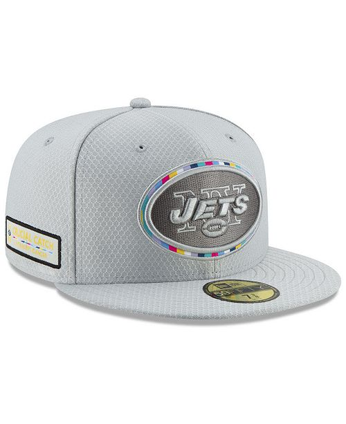 3cd666eca60 New Era New York Jets Crucial Catch 59FIFTY FITTED Cap - Sports Fan ...