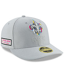 New Era New Orleans Saints Crucial Catch Low Profile 59FIFTY Fitted Cap