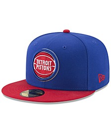 Detroit Pistons Basic 2 Tone 59FIFTY Fitted Cap