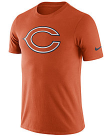 Nike Men's Chicago Bears Dri-Fit Cotton Essential Logo T-Shirt