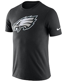 Nike Men's Philadelphia Eagles Dri-Fit Cotton Essential Logo T-Shirt