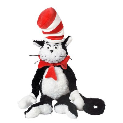 Manhattan Toy Dr. Seuss The Cat In The Hat 27 Inch Soft Plush Toy