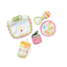 Manhattan Toy Baby Stella Feeding Set Doll Accessory