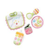 Manhattan Toy Baby Stella Feeding Set Doll Accessory