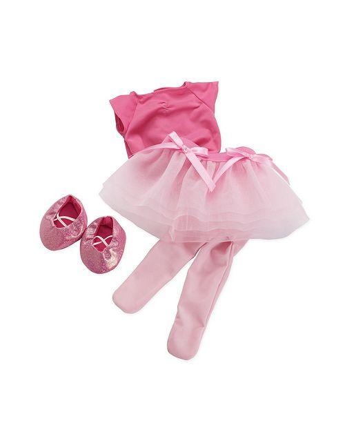 68ae4091ff1ad Manhattan Toy Company Manhattan Toy Baby Stella Tiptoe Ballet Tutu 15 Inch Baby  Doll Outfit ...