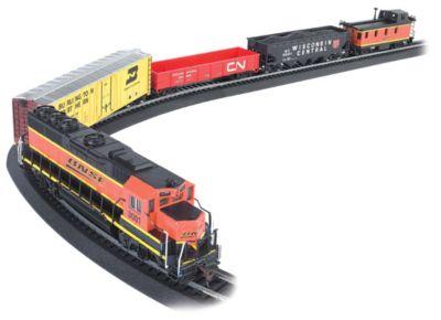 Bachmann Trains Rail Chief Ho Scale Ready To Run Electric Train Set