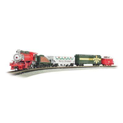 Bachmann Trains Merry Christmas Express Ready To Run Electric Train Set N Scale