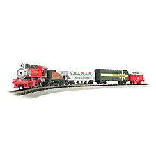 Bachmann Trains Merry Christmas Express Ready To Run Electric Train Set N Scale